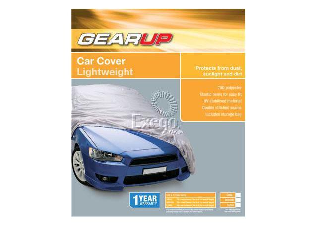 Gearup Car Cover Medium 4.1m - 4.7m Bronze Sparesbox - Image 1