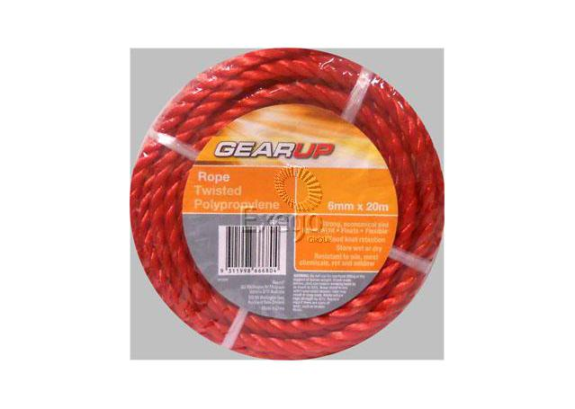 Gearup Multi Purpose Poly Rope 6mm x 20m Sparesbox - Image 1