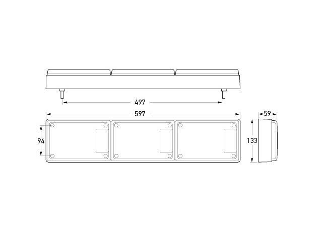HELLA Jumbo LED Lamp 12-24V 2431 Sparesbox - Image 2