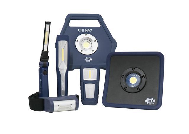 HELLA LED Workshop Lights 6 Pc Fathers Day Bundle - HELLAKIT1 Sparesbox - Image 1