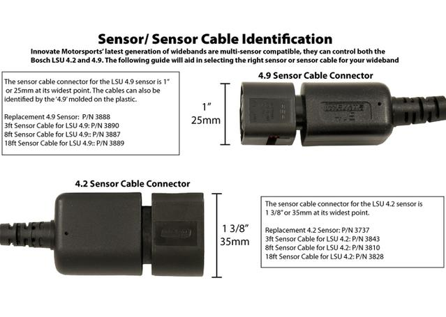 LSU4.2 8ft Expansion Sensor Cable Sparesbox - Image 2