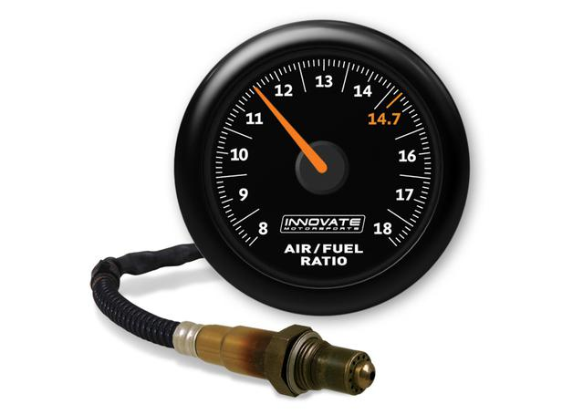 MTX-AL Air/Fuel Ratio Gauge Kit Black Dial Sparesbox - Image 1