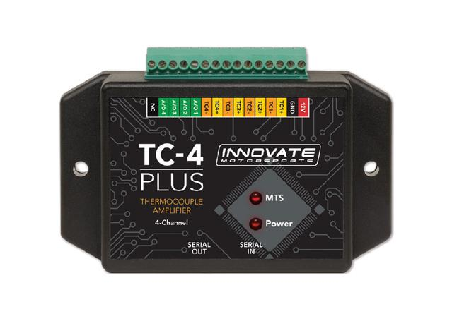 TC-4 PLUS Thermocouple Amplifier For MTS 4-Channel Analogue Output Sparesbox - Image 1