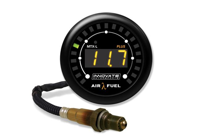 MTX-L PLUS Digital Wideband Air/Fuel Ratio Gauge Kit with 8ft Sensor Cable & O2 Sensor Sparesbox - Image 1