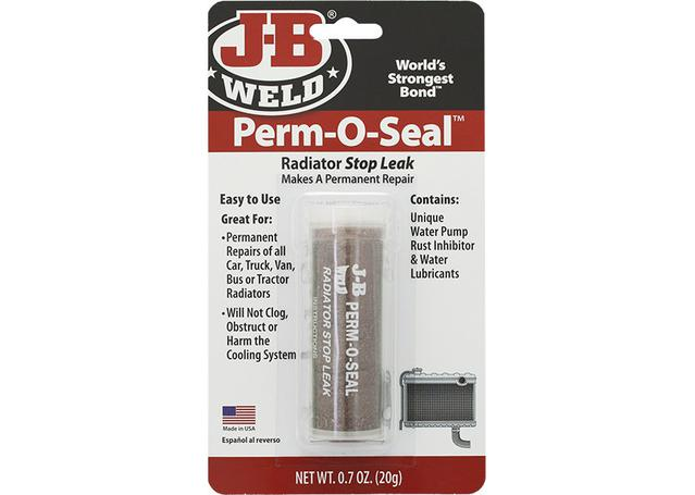 J-B Weld Perm-O-Seal Radiator Stop Leak Repair 20g DS-114 Sparesbox - Image 1