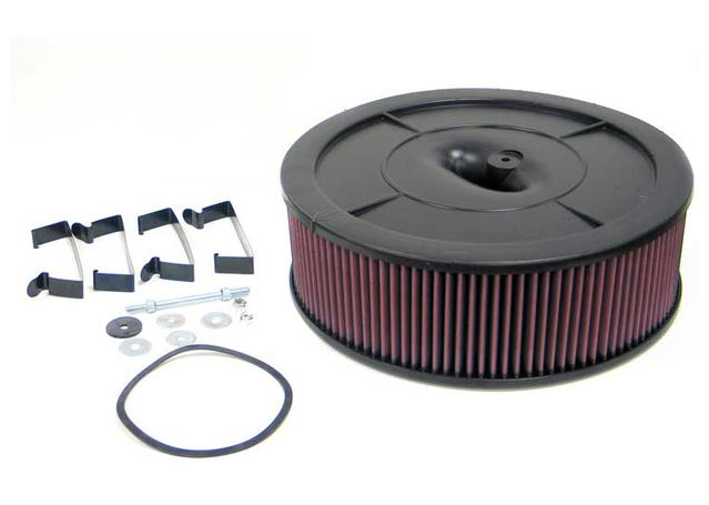 K&N Flow Control Custom Air Filter 61-2010 Sparesbox - Image 1