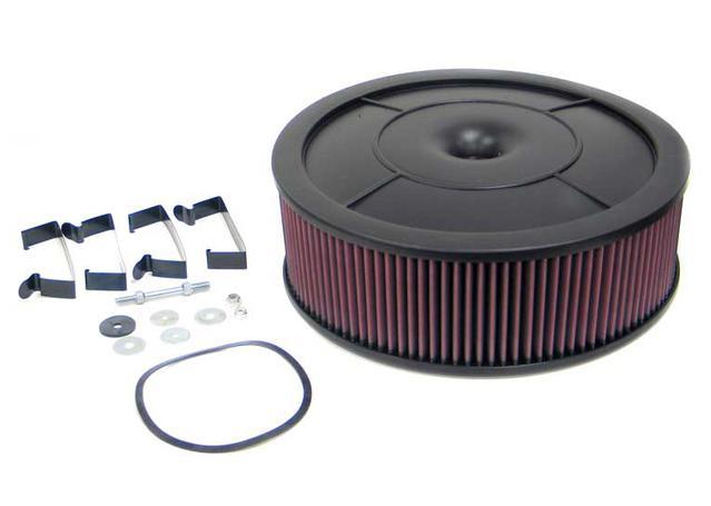 K&N Flow Control Custom Air Filter 61-4040 Sparesbox - Image 1