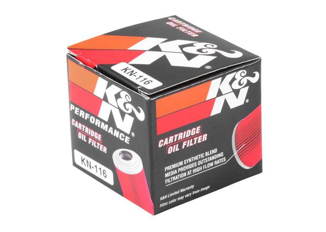 K&N Motorcycle Oil Filter Fits Honda CRF250E/450R - KN-116