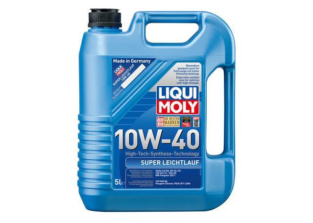 Liqui Moly Super Leichtlauf Engine Oil 10W40 5L  Sparesbox - Image 1