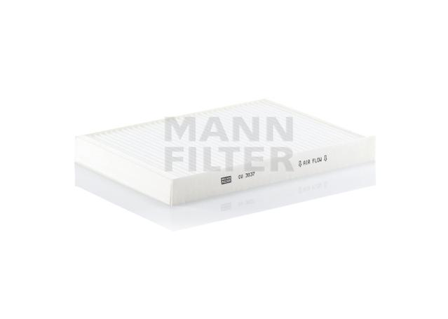 mann cabin air pollen filter cu3037 cu 3037