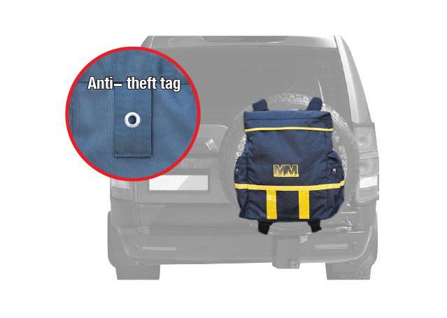 Mean Mother Rear Wheel Bag MMSBG Sparesbox - Image 6