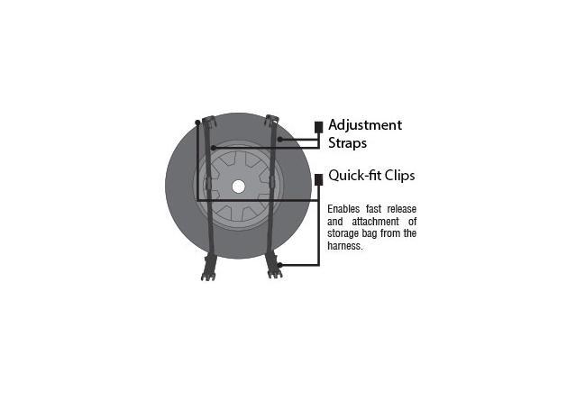Mean Mother Rear Wheel Bag MMSBG Sparesbox - Image 8