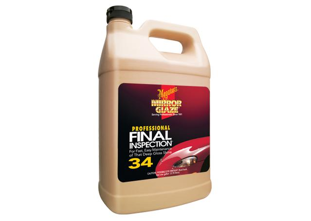 Meguiars Mirror Glaze Final Inspection Paint Cleaner 3.8L M3401  Sparesbox - Image 1