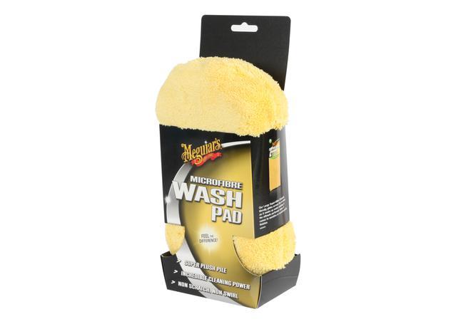 Meguiars Microfibre Car Wash Sponge Deep Pile AG1020  Sparesbox - Image 1