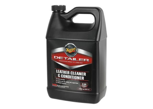 Meguiars Detailer Leather Cleaner & Conditioner 3.8L D18001  Sparesbox - Image 1