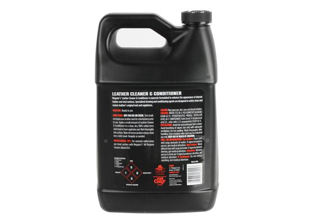 Meguiars Detailer Leather Cleaner & Conditioner 3.8L D18001  Sparesbox - Image 2