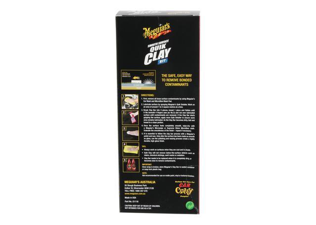 Meguiars Smooth Surface Quick Clay Bar Kit 473mL G1116  Sparesbox - Image 2