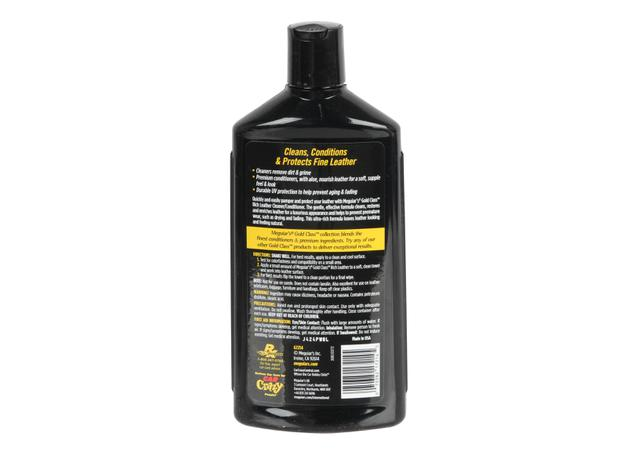 Meguiars Gold Class Rich Leather Cleaner Conditioner 414mL G7214  Sparesbox - Image 2