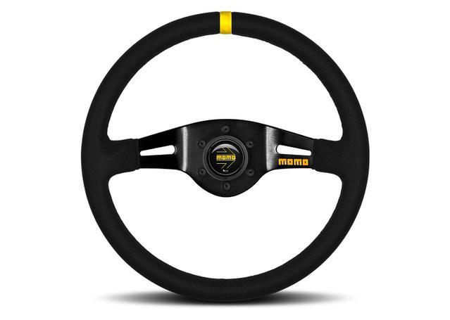 MOMO Steering Wheel MOD 03 Black 350 11150405211L Sparesbox - Image 1