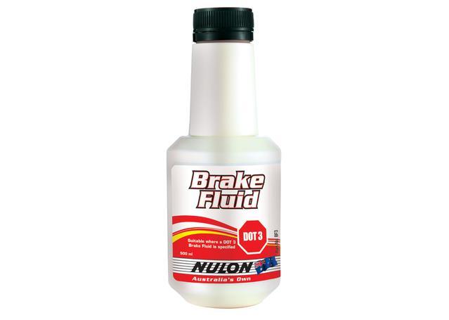 Nulon Brake Fluid DOT 3 500mL Sparesbox - Image 1