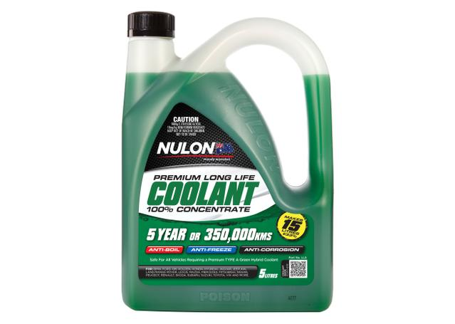 Nulon Coolant Green Long Life Concentrate 5L Sparesbox - Image 1