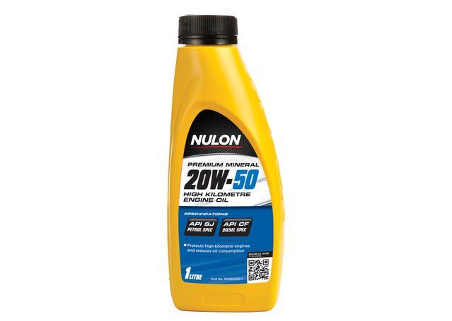 Nulon Premium Mineral Oil High Kilometre 20W50 1L