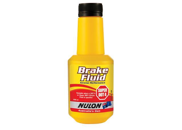 Nulon Brake Fluid Super DOT 4 Extreme Performance 500mL Sparesbox - Image 1