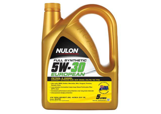 Nulon Full Synthetic Euro Engine Oil 5W30 5L Sparesbox - Image 1