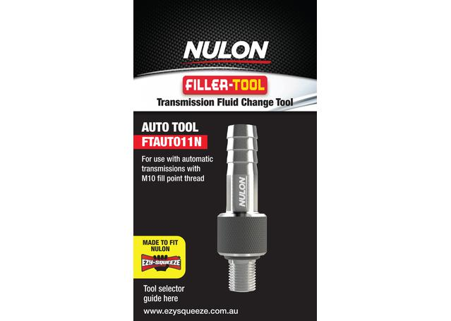Nulon Filler Tool 11N (Suits Auto M10 Thread) FTAUTO11N Sparesbox - Image 1