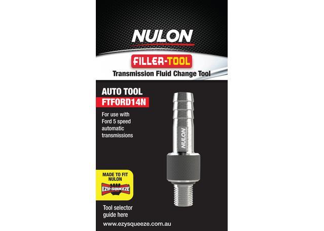 Nulon Filler Tool 14N (Suits Ford 5 Speed) FTFORD14N Sparesbox - Image 1