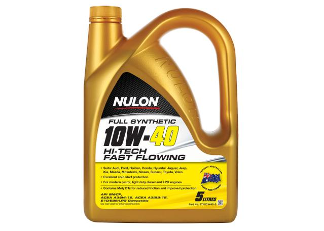 Nulon Full Synthetic Hi-Tech Engine Oil 10W40 5L Sparesbox - Image 1