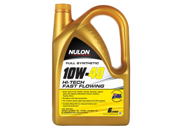 Nulon Full Synthetic Hi-Tech Engine Oil 10W40 6L Sparesbox - Image 1
