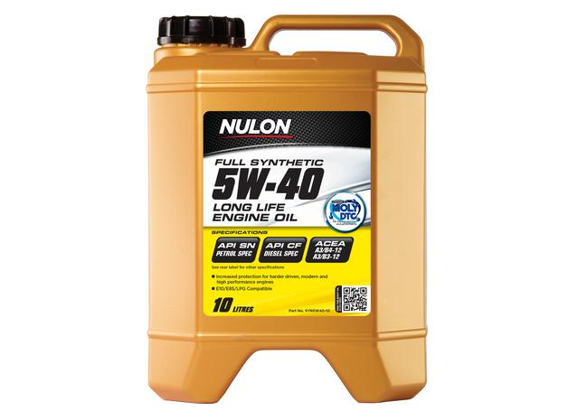 Nulon Full Synthetic Long Life Engine Oil 5W40 10L
