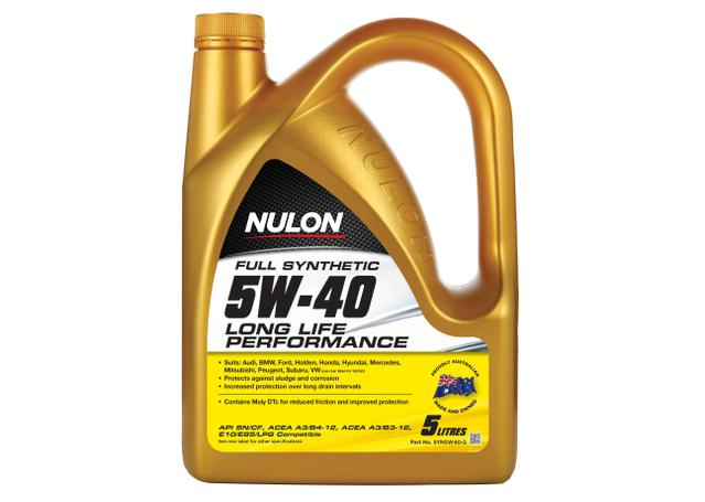 Nulon 5W40 Engine Oil Full Synthetic Long Life 5L Sparesbox - Image 1