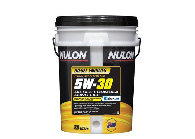 Nulon Full Synthetic Diesel Formula Long Life Engine Oil 5W30 20L