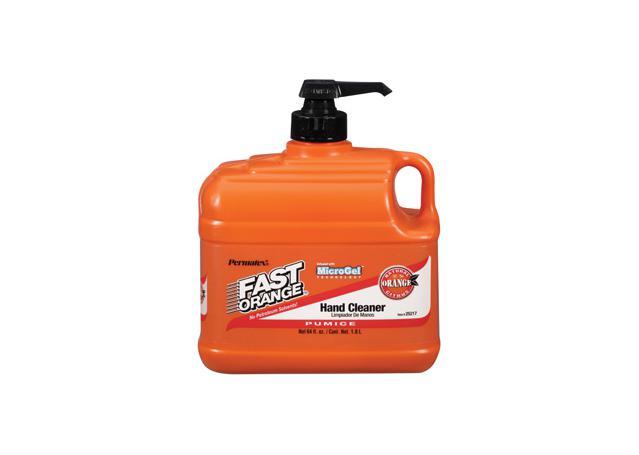 Permatex Fast Orange Hand Cleaner Pumice Lotion 1.8Ltr Sparesbox - Image 1