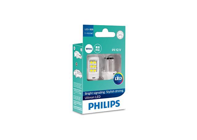 Philips Ultinon LED Bayonet Globe 12V White 11499ULWX2 Sparesbox - Image 1