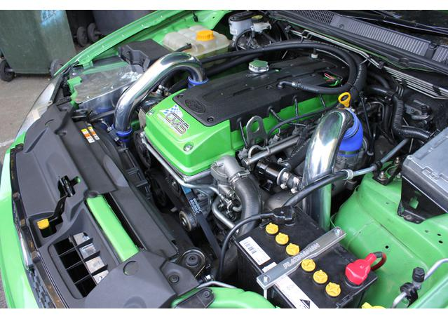 Plazmaman Piping Kit Stage 3 Hot Side (63mm) Cold Side (76mm) Polished Fits  FG FGX XR6 Turbo