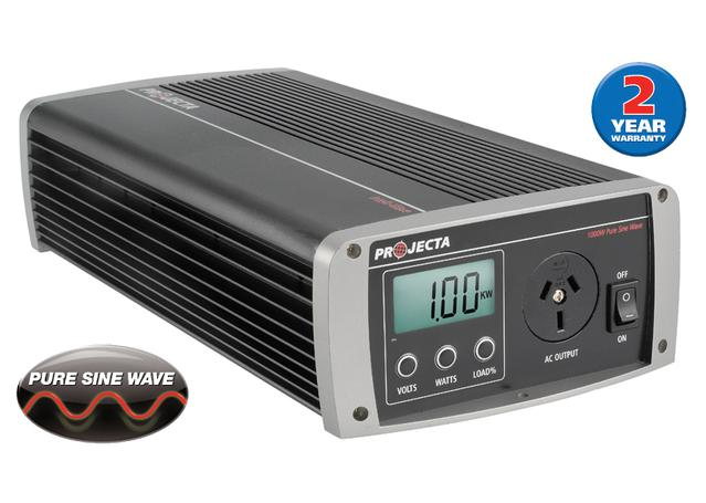 PROJECTA Intelli-Wave 12V 1000W Pure Sine Wave Inverter IP1000 Sparesbox - Image 1
