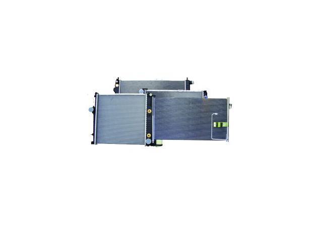 protex radiator fits nissan navara d22 a/t radn170 sparesbox - image 1