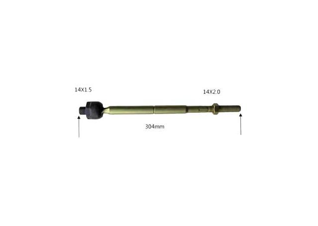 Protex Rack End fits Volvo RE5539 Sparesbox - Image 1