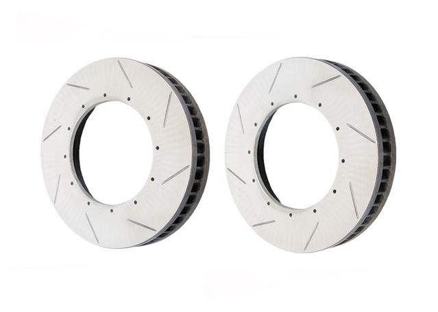RacingLine VWR680001 - VWR 360mm Brake Kit Replacement Rotors (No hats,  Floating)