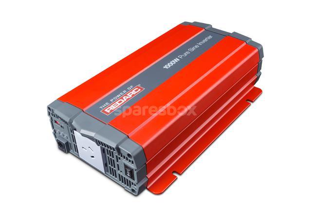 REDARC Pure Sine Inverter 12V 1000W R-12-1000RS Sparesbox - Image 1