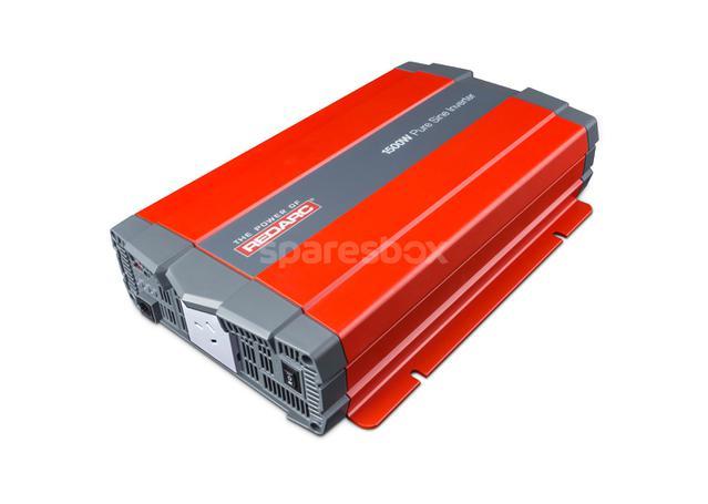 REDARC Pure Sine Inverter 12V 1500W R-12-1500RS Sparesbox - Image 1