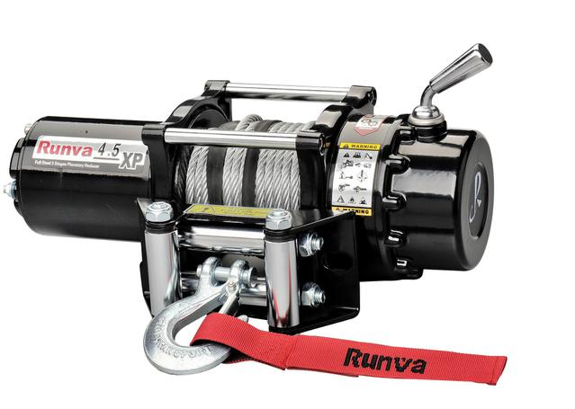 Runva ATV Winch 4 5X 12V With Steel Cable
