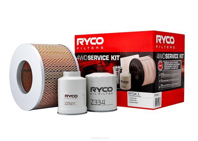 Ryco Filter Service Kit 4x4 RSK1 Sparesbox - Image 1