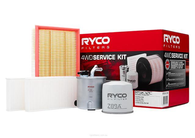 Ryco Filter Service Kit 4x4 RSK12C Sparesbox - Image 1