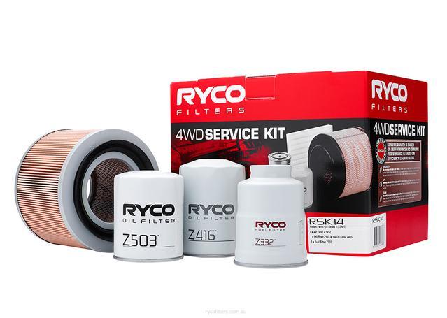Ryco Filter Service Kit 4x4 RSK14 Sparesbox - Image 1