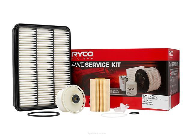 RSK18C Ryco 4x4 Filter Service Kit
