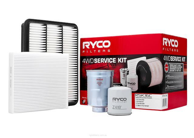 Ryco Filter Service Kit 4x4 RSK16C Sparesbox - Image 1